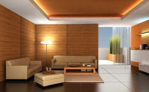 A decoração com parede de marcenaria deixará sua casa muito mais sofisticada e requintada (Foto: Divulgação)