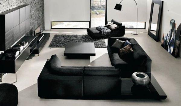 A decoração de casas em preto e branco é a novidade do momento e garante visual requintado para seu lar (Foto: Divulgação)