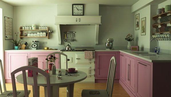 A decoração de cozinha vintage pode repaginar o visual de seu lar inteiro, principalmente se a sua cozinha for integrada a outra área (Foto: Divulgação)
