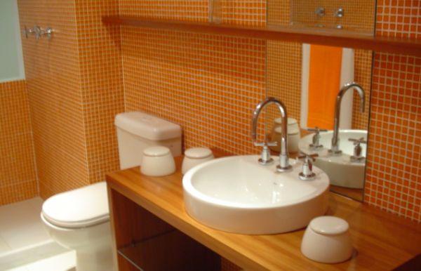 A marcenaria para banheiros deixará a decoração deste espaço muito mais interessante e diferenciada (Foto: Divulgação)