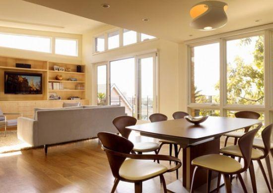 Sala De Estar Com Sala De Jantar Simples ~  Projetos – Decoração de Sala de Estar e Sala de Jantar Conjugadas