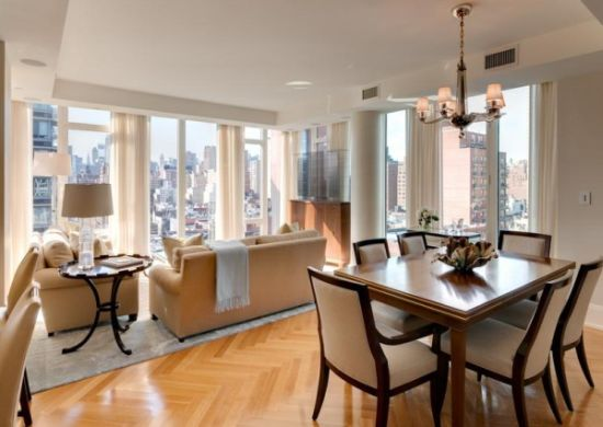 Decora o e projetos decora o de sala de estar e sala de for Sala da pranzo decor