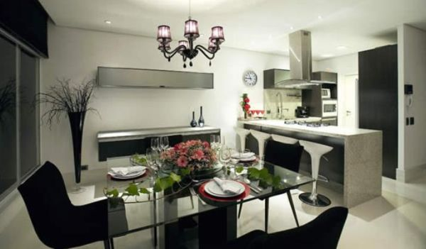 A decoração para área gourmet pequena deve deixar o ambiente ainda mais aconchegante (Foto: Divulgação)