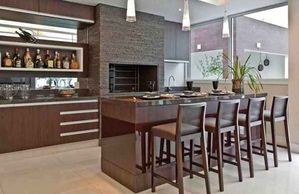 decoracao na cozinha: Projetos – Decoração para Área de Churrasco na Cozinha