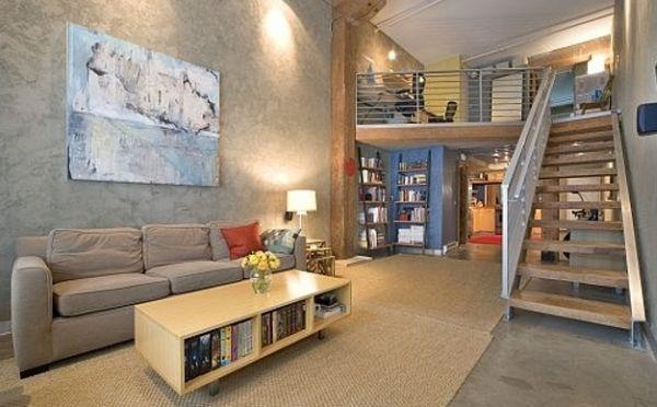 A decoração para loft alugado deve ser a mais criativa possível, para que você alcance o resultado desejado (Foto: Divulgação)