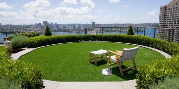 A decoração de telhados com plantas deixará todo o ambiente de seu lar muito mais relaxante e diferenciado (Foto: Divulgação)