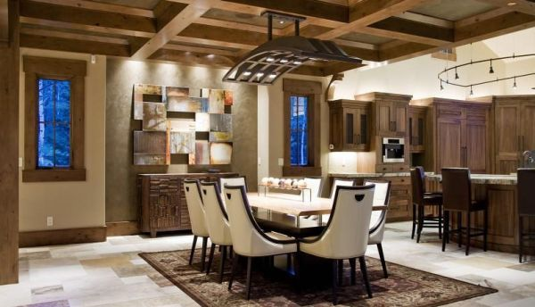 A decoração para ambientes rústicos é aconchegante e garante clima acolhedor para o seu lar (Foto: Divulgação)