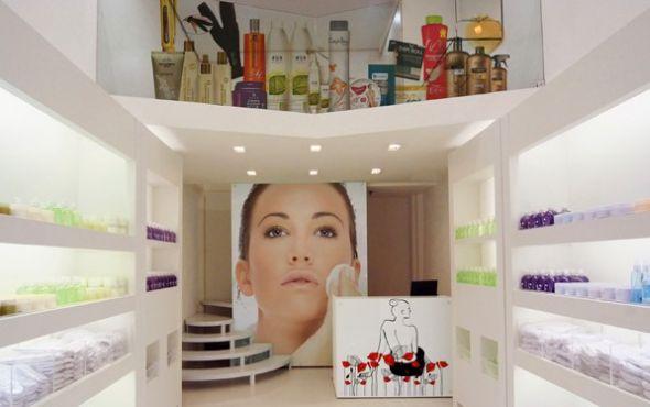 Decoraç u00e3o e Projetos Decoraç u00e3o para Loja de Cosméticos # Decoração De Loja Pequena De Cosmeticos