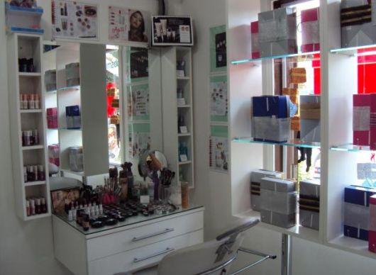 Decoraç u00e3o e Projetos Decoraç u00e3o para Loja de Cosméticos -> Decoração De Loja Pequena De Cosmeticos