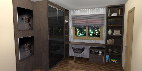 A decoração com móveis personalizados é ótima opção para quem quer aproveitar ao máximo todos os espaços de seu cômodo (Foto: Divulgação)