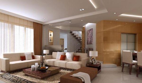 A decoração com teto rebaixado renova qualquer ambiente e pode até mesmo ser funcional (Foto: Divulgação)