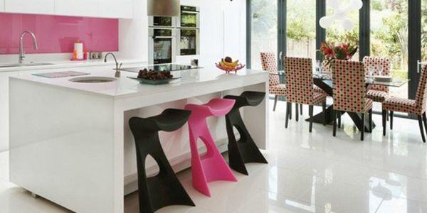 A decoração de casa com tons de rosa deixa seus ambientes mais divertidos (Foto: Divulgação)