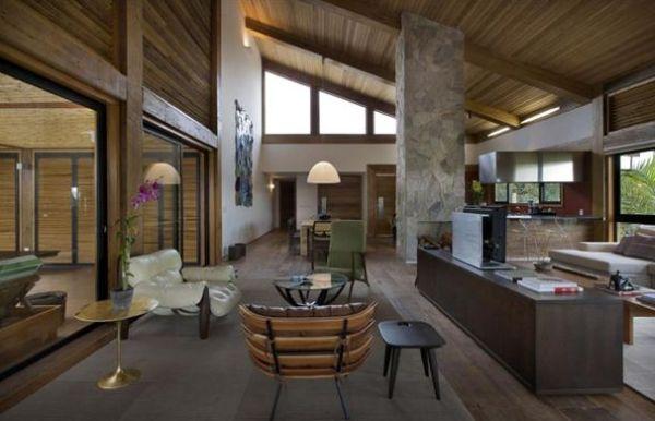 A decoração de casa da montanha pode ter vários estilos diferentes, e você pode optar pelo que mais tenha em comum com sua personalidade (Foto: Divulgação)