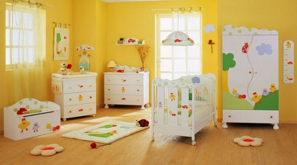 A decoração unissex para quarto de bebê pode ser tão interessante quanto uma decoração para um sexo específico (Foto: Divulgação)