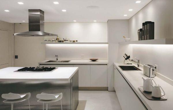 Decora o e projetos decora o de cozinhas com gesso - Focos para cocina ...