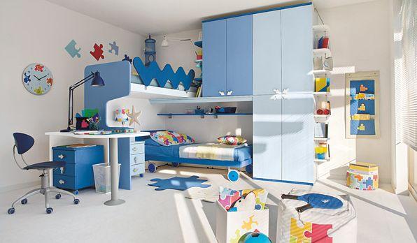 Para criar uma atrativa decoração para quarto de irmãos meninos invista em peças diferenciadas e divertidas (Foto: Divulgação)