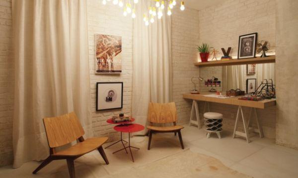 A decoração com cavaletes pode ser tão interessante quanto qualquer outra e chegar a ser até mesmo sofisticada (Foto: Divulgação)
