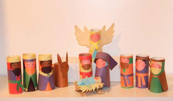 A decoração artesanal para o Natal pode ser tão interessante e especial quanto a decoração mais elaborada (Foto: Divulgação)