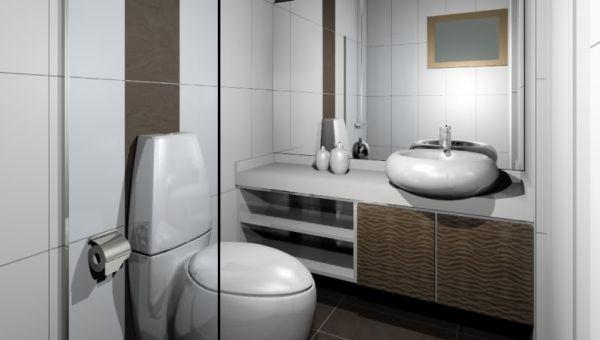 A decoração diferente para lavabos pode ser alcançada de várias maneiras (Foto: Divulgação)