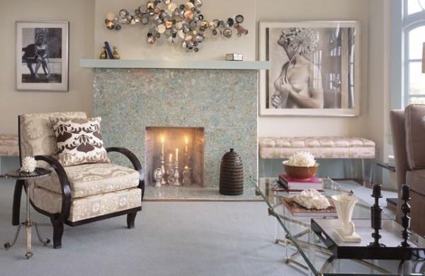A decoração de casas com estilo antigo está em alta no segmento da decoração e é ótima opção para quem quer renovar o ambiente sem gastar muito, pois pode usar peças de família (Foto: Divulgação)