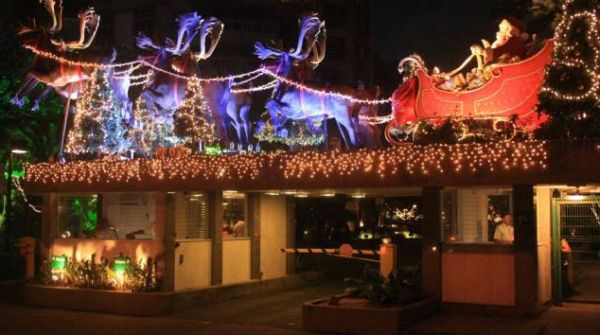 A decoração de Natal para condomínios deve seguir e ter o que a maioria dos moradores decidir (Foto: Divulgação)