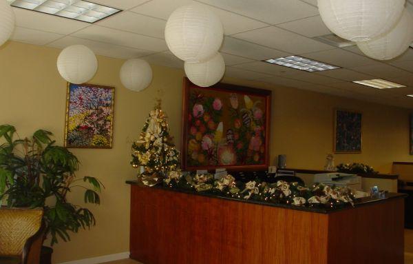 A decoração de Natal para consultórios deixa o espaço ainda mais interessante, além de fazer muitos pacientes relaxarem (Foto: Divulgação)