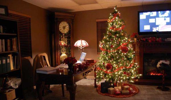 Para o natal 2013 as decorações natalinas para casas estão bem ecléticas (Foto: Divulgação)