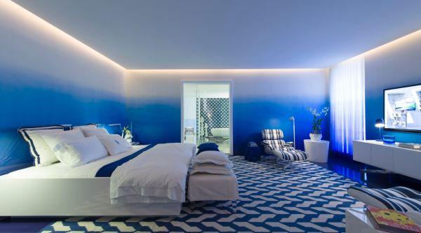 A decoração de paredes com efeitos garante ainda mais charme para todo o cômodo e repagina o espaço instantaneamente (Foto: Divulgação)