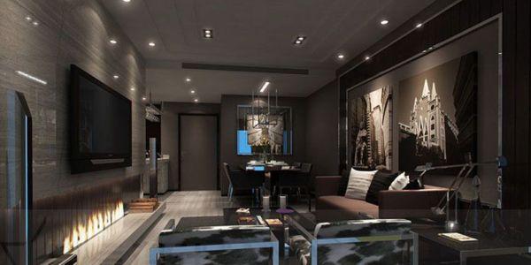 A decoração de sala masculina pode seguir vários estilos diferentes, de acordo com o estilo do dono da casa (Foto: Divulgação)