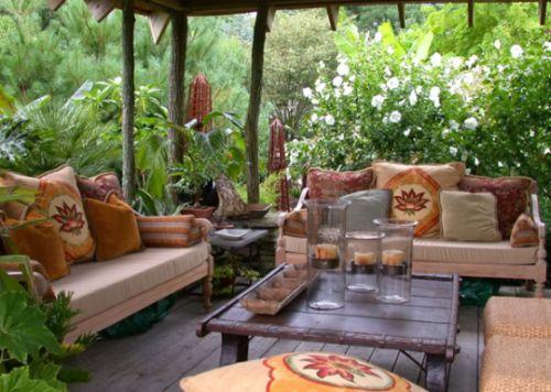 Decora o e projetos decora o r stica para varandas e jardins for Jardines rusticos campestres