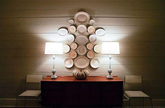 A decoração com pratos na parede chega para garantir fôlego novo para seus ambientes (Foto: Divulgação)