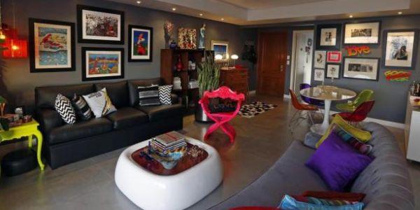 A decoração de apartamentos para o carnaval deve ser bem colorida e divertida (Foto: Divulgação)
