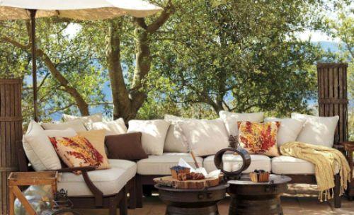Decora o e projetos decora o de jardins com rvores frut feras - Arredamento da esterno ikea ...