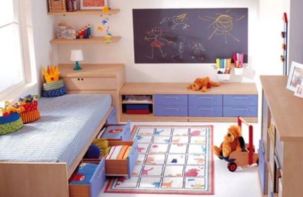 A decoração de quarto infantil pequeno deve ser pensada com cuidado para aproveitar ao máximo todas as partes disponíveis (Foto: Divulgação)