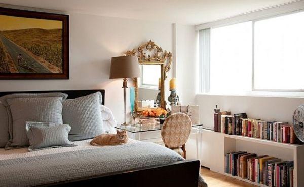 A decoração de quartos com penteadeiras é ótima opção para as românticas ou saudosistas (Foto: Divulgação)