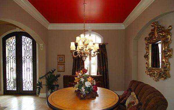 A decoração de tetos coloridos garante fôlego novo para seu ambiente (Foto: Divulgação)