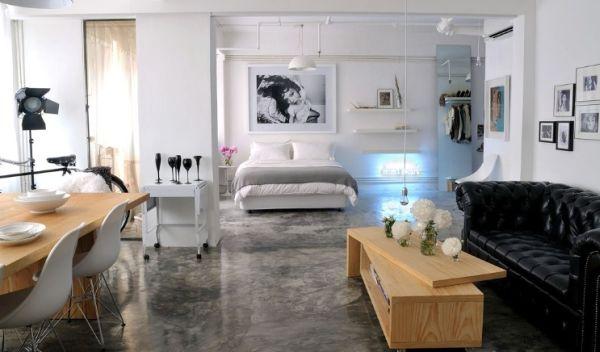 A decoração para apartamento de pessoas independentes deve ser bem versátil (Foto: Divulgação)