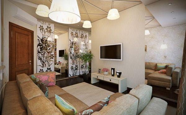 A decoração feminina para sala deixa o ambiente com o clima mais leve e receptivo (Foto: Divulgação)