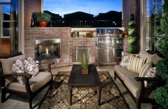 A decoração rústica para terraços é muito interessante e pode ser bem barata (Foto: Divulgação)