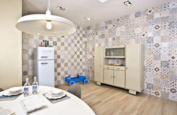 Invista em decoração com azulejos coloridos e estampados e repagine o visual de sua casa (Foto: Divulgação)