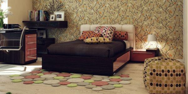 A decoração com pufes estampados é a maneira mais rápida de conseguir mais assentos para seu espaço e muito mais charme (Foto: Divulgação)