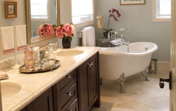 A decoração de banheiros clássicos é uma ótima opção para quem busca sofisticação para sua casa (Foto: Divulgação)