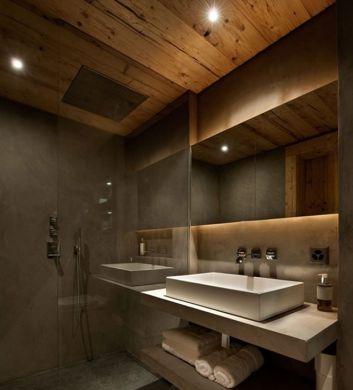 A decoração de banheiros com ripas de madeira exige escolha precisa da madeira utilizada (Foto: Divulgação)