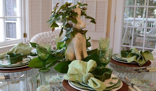 A decoração de mesas para almoço de Páscoa deve ser bem especial, pois a data pede (Foto: Divulgação)