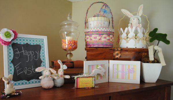 A decoração de Páscoa para apartamentos pode ter os itens que você quiser (Foto: Divulgação)