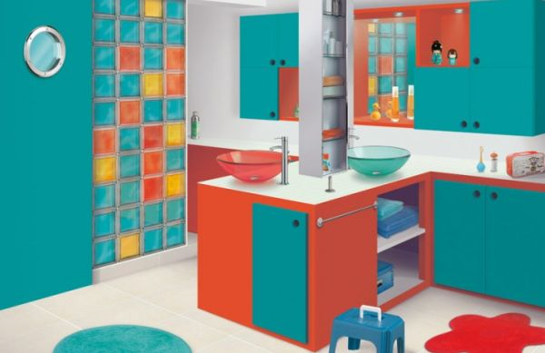 A decoração para banheiro infantil pode seguir o estilo ou tema que sua criança quiser (Foto: Divulgação)