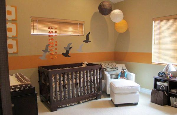 A decoração para quarto de bebê com tema passarinho pode ser usada tanto por meninas quanto por meninos (Foto: Divulgação)