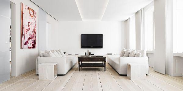 Os detalhes de decoração para paredes brancas são ótimas opções para diferenciar um ambiente sem muito esforço (Foto: Divulgação)