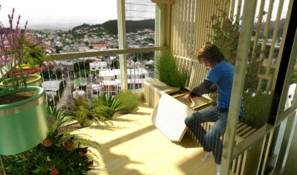 Cultivar a jardim em apartamento é muito fácil, basta escolher as plantas corretas (Foto: Divulgação)