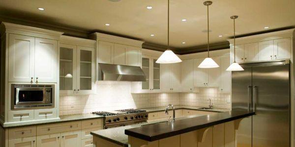 A iluminação para cozinhas é essencial para valorizar toda a decoração deste ambiente (Foto: Divulgação)